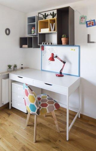 biurko białe_pokój nastolatki