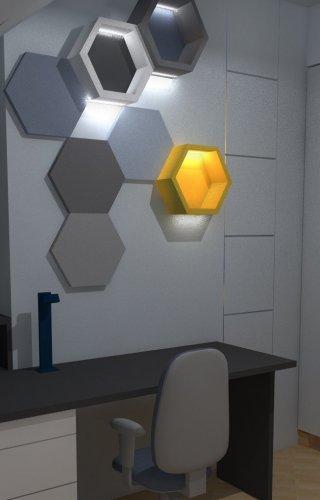 heksagon_ półki
