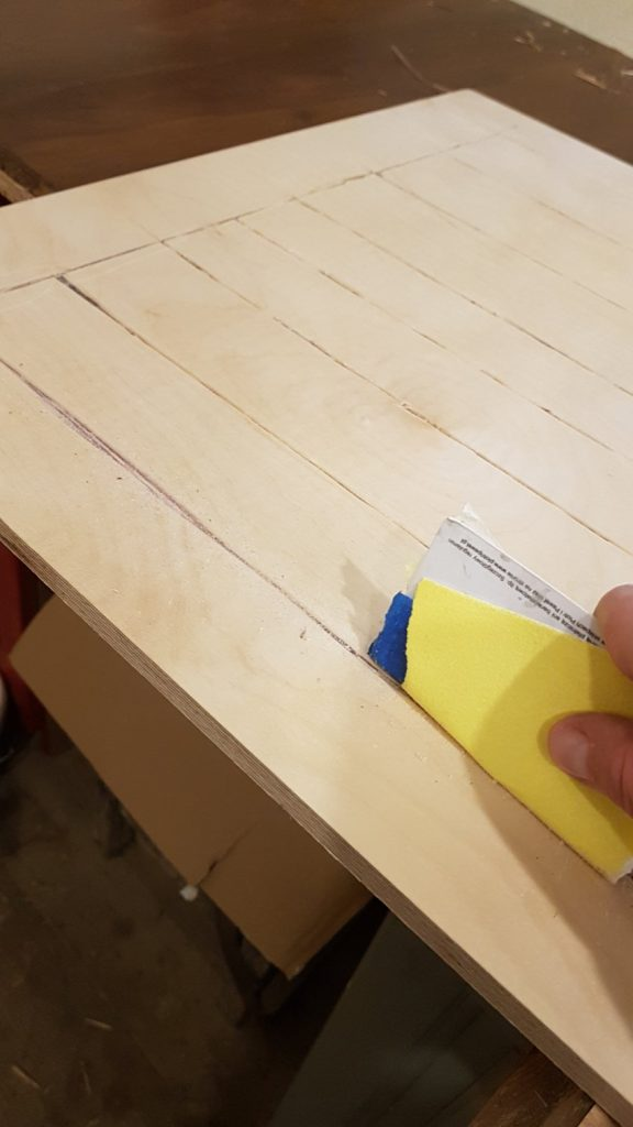 Tablica organizacyjna DIY