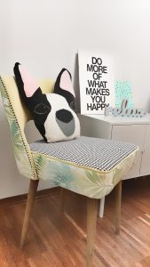 Tapicerowanie fotela i krzesła- DIY - Renowacja fotela i krzesła