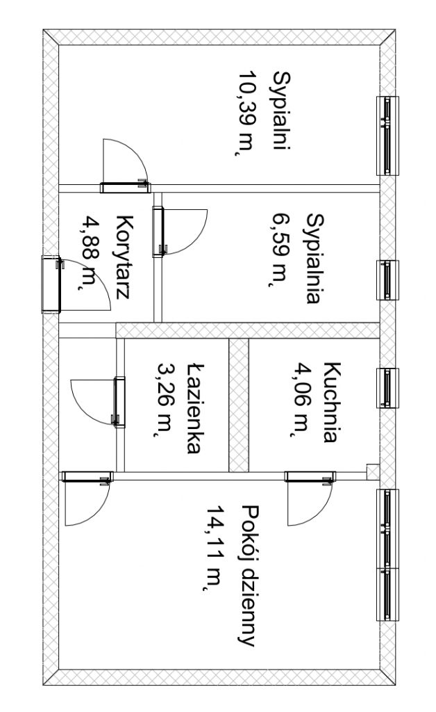 Projekt mieszkania 40m2 i okolice