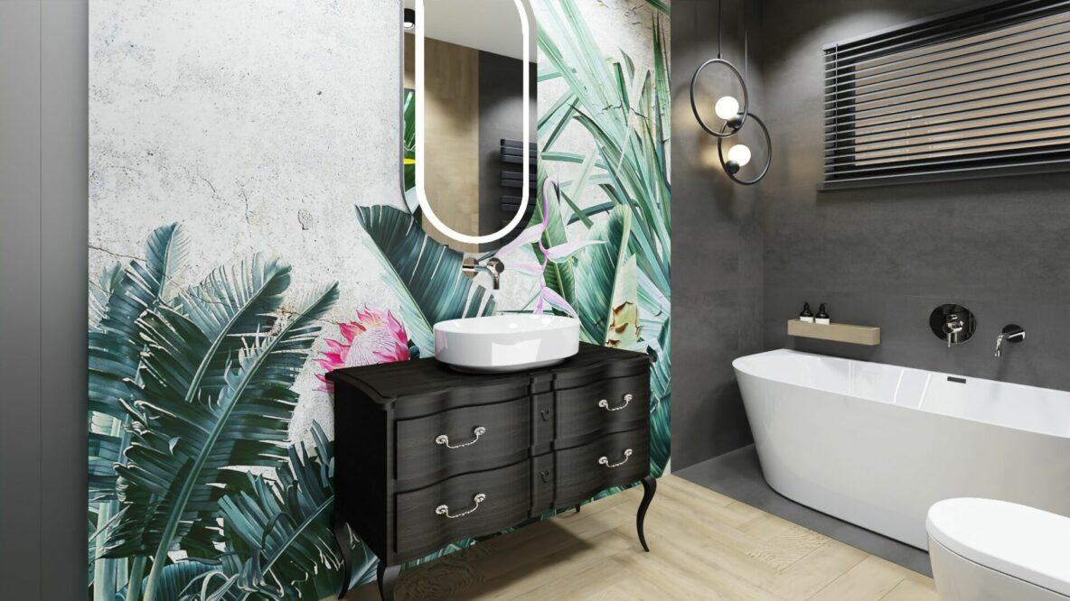 Duża łazienka- dom Pruszków