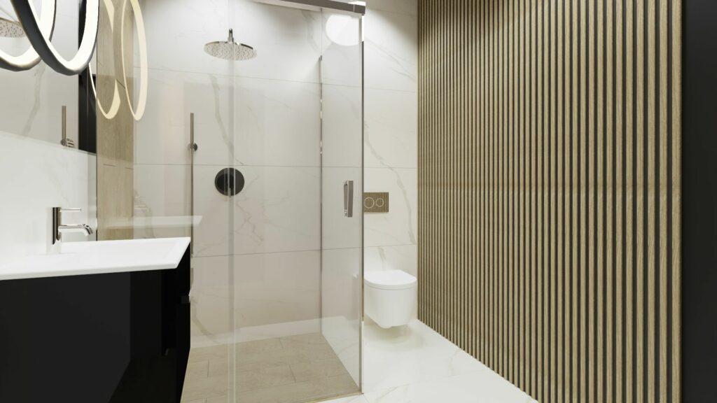 Mała łazienka- dom Pruszków