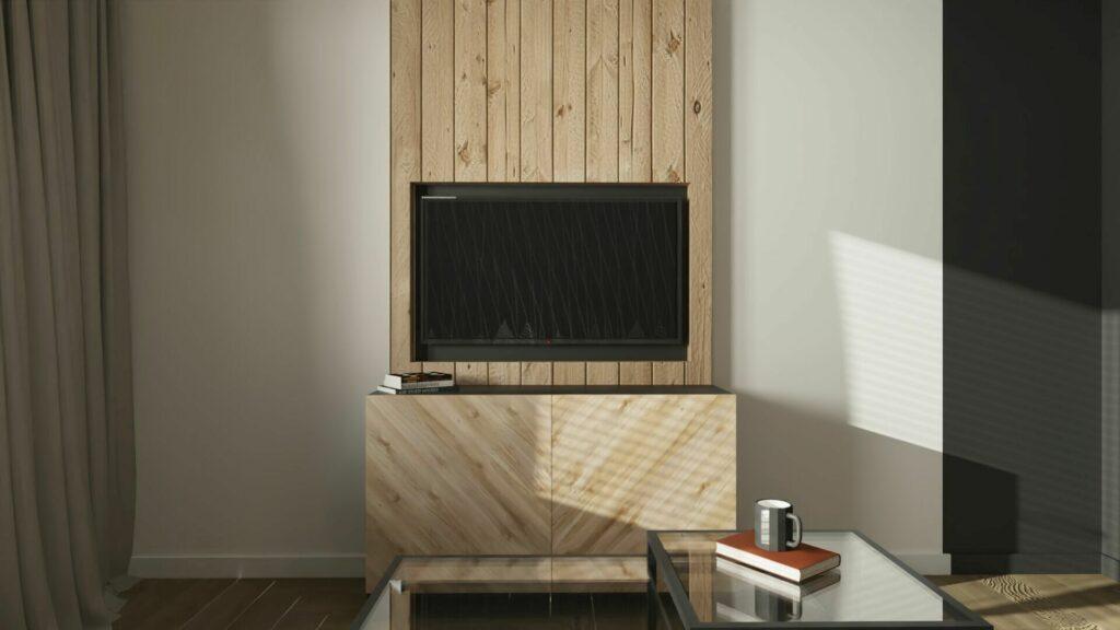 Telewizor w pokoju gościnnym- Pruszków