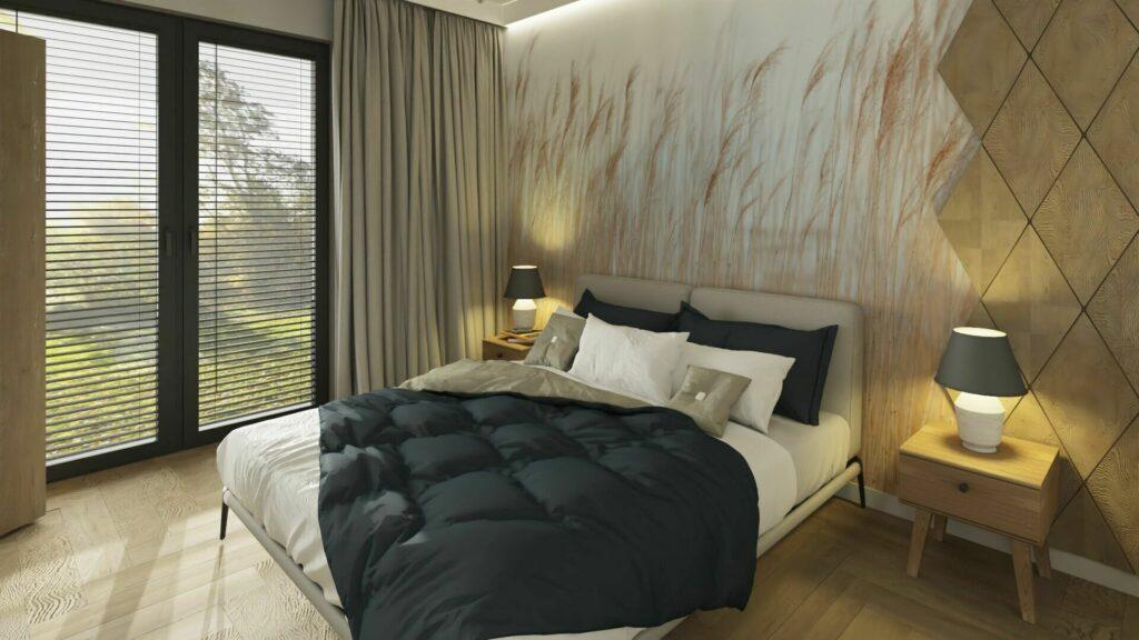 Co na ścianę w sypialni- panele na ścianę do sypialni.