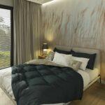 Sypialnie z tapetami- pomysły na małą sypialnię