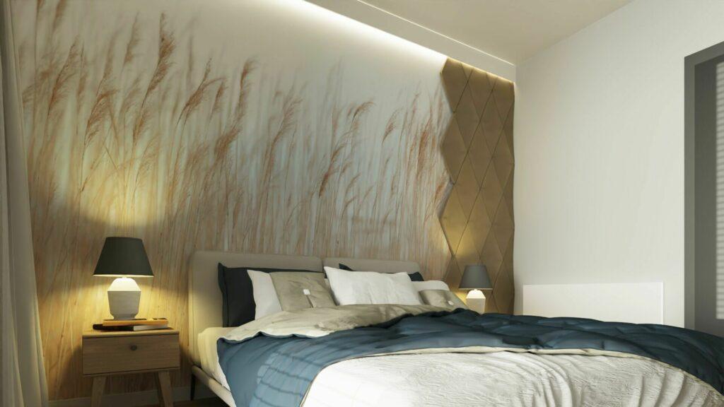 Co na ścianę w sypialni- panele Kalithea