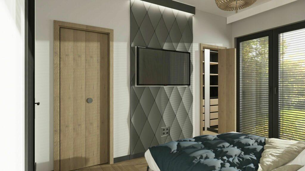 Pomysły na małą sypialnię z garderobą