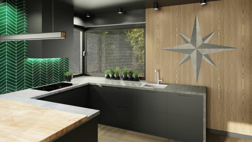Zlew w kuchni- dom Pruszków