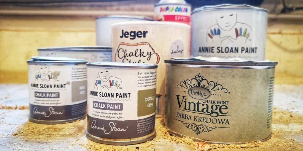 Malowanie mebli- farby kredowe