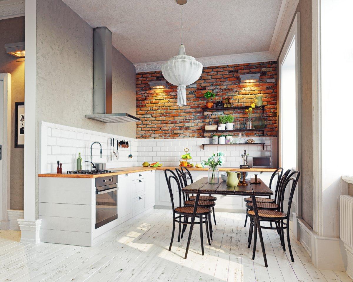 aranżacje kuchni rustykalnych