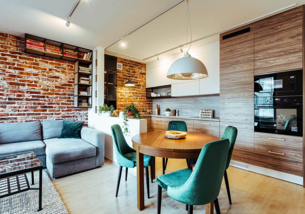 Mieszkanie w stylu loftowym- Warszawa Żoliborz