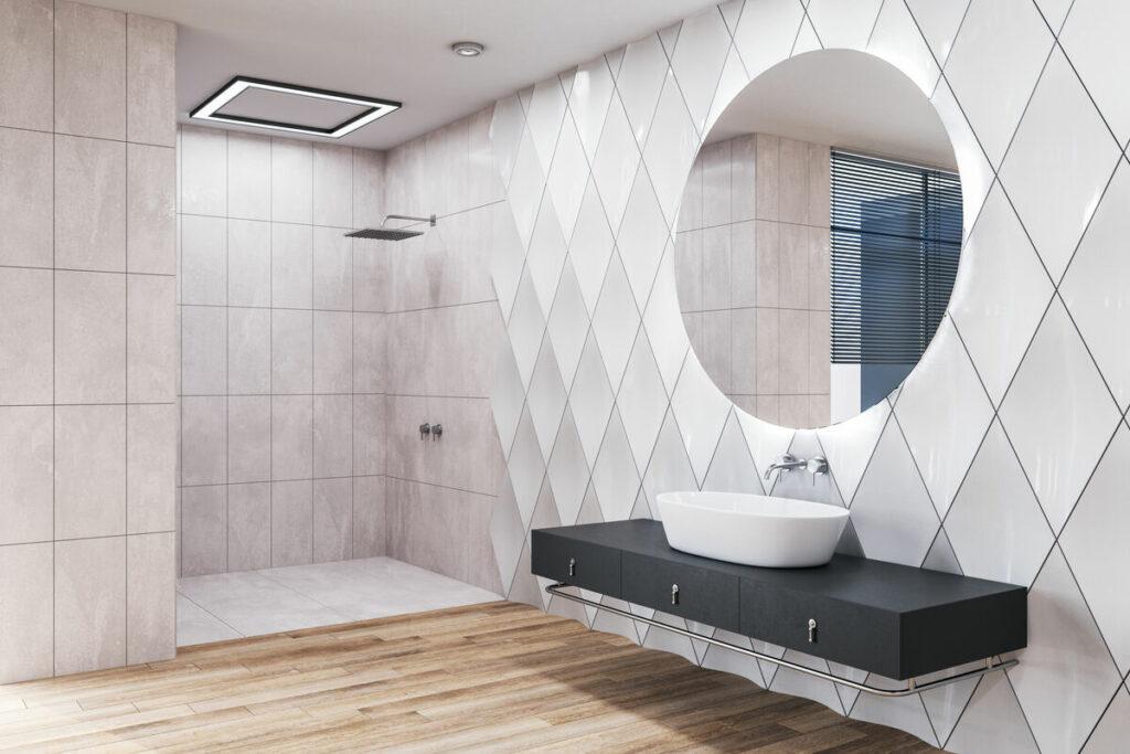 Panele 3D do łazienki