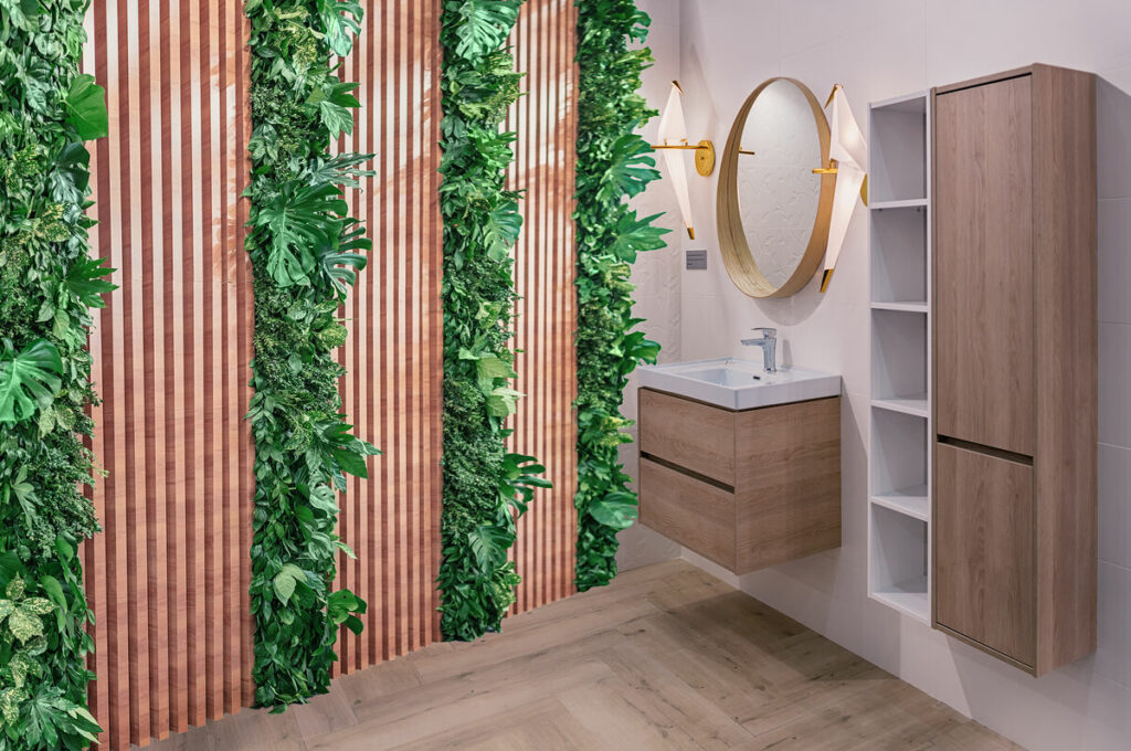 Rośliny w łazienkach