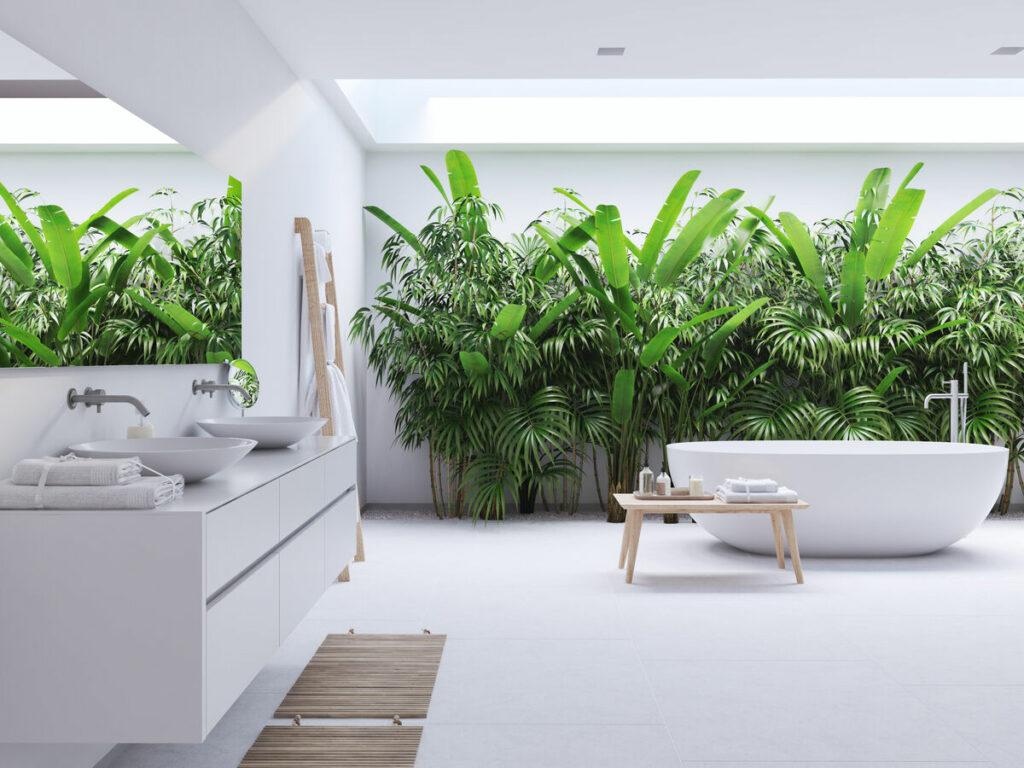 Co na ściany do łazienki zamiast płytek?