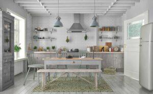 Kuchnia Skandynawska Stół