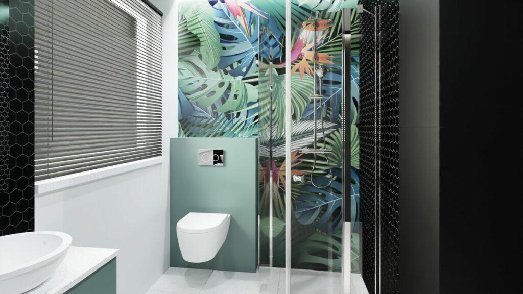Aranżacja łazienki z prysznicem