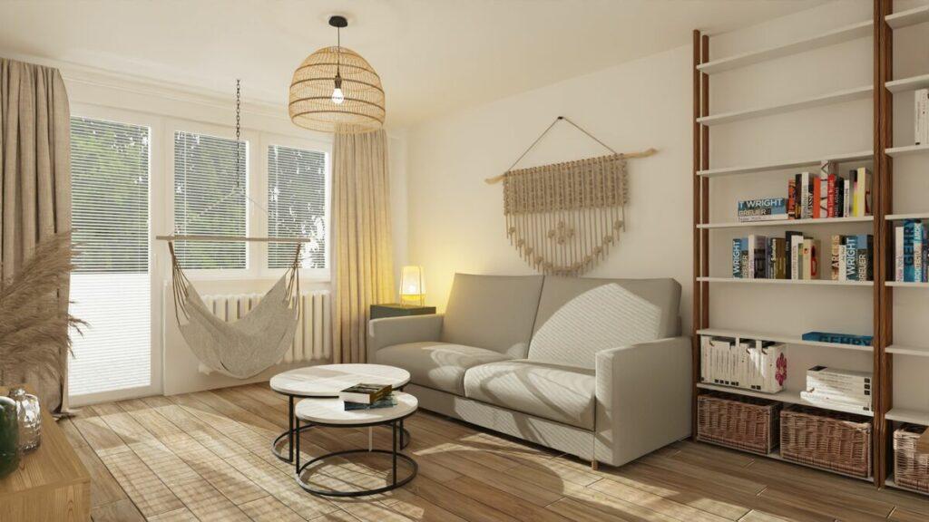 Jak tanio urządzić mieszkanie i stolik kawowy- Warszawa