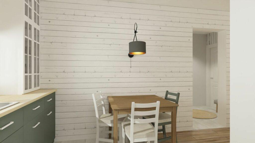 Jak urządzić mieszkanie 50 m stolik- Warszawa