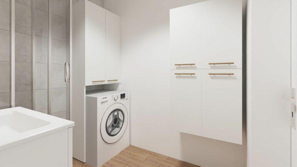 Urządzenie mieszkania projekt łazienki- Warszawa