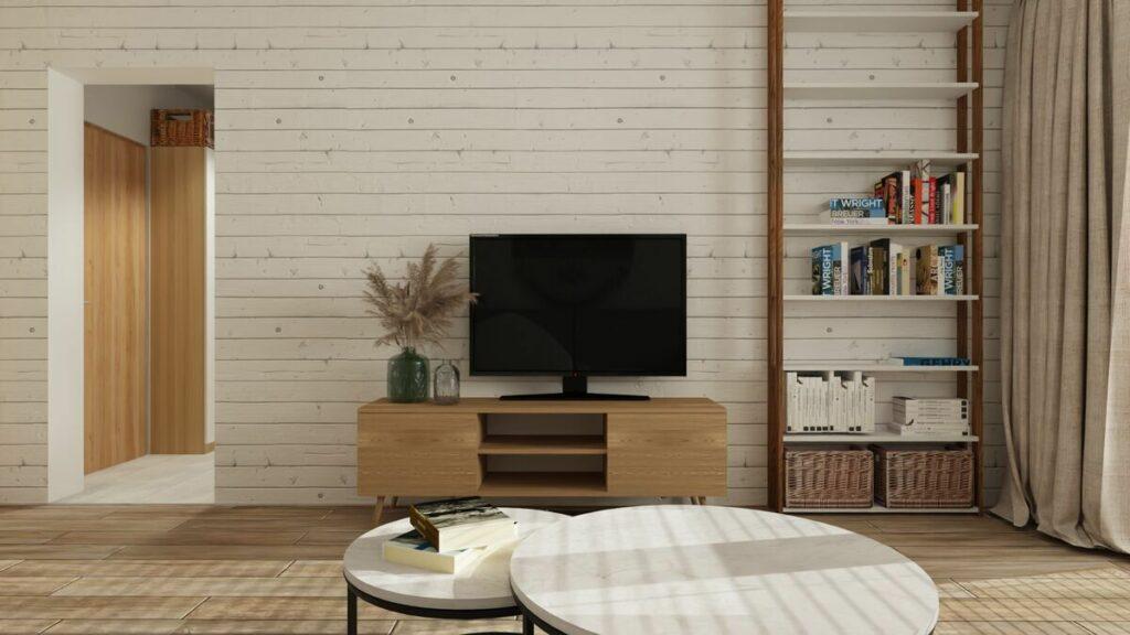 Urządzenie mieszkania i telewizor- Warszawa